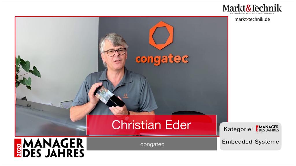 »Manager des Jahres 2020«: Christian Eder