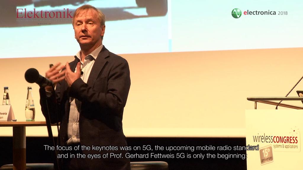 Wireless Congress 2018: 5G im Fokus