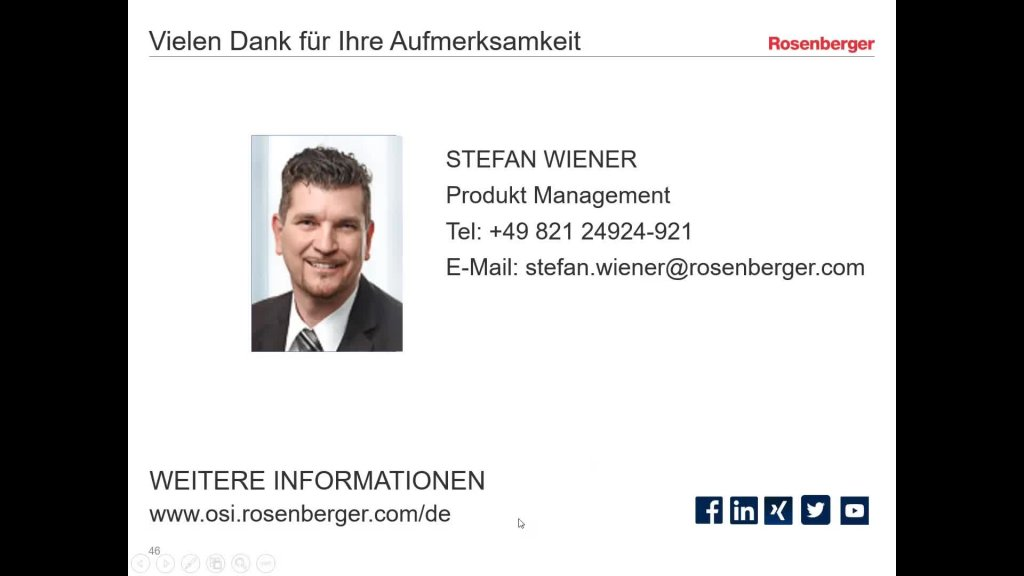 Rosenberger Webinar 19.03.2019 mit LANline