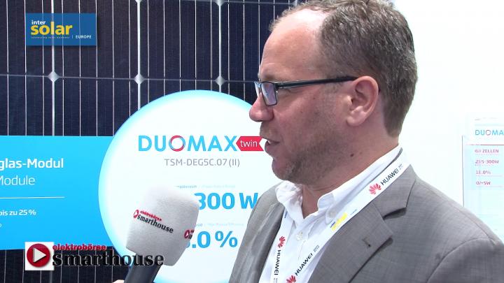 Intersolar 2017: Interview mit Trina Solar - Bifaziale Solarmodule im Trend