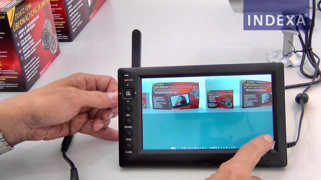 INDEXA: Funk-Überwachungskameraset DF270 – Zusatzkamera anmelden