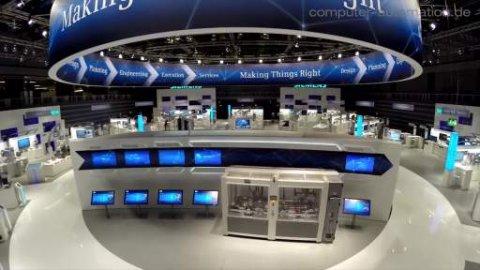 Siemens' vollvernetzte Fabrik