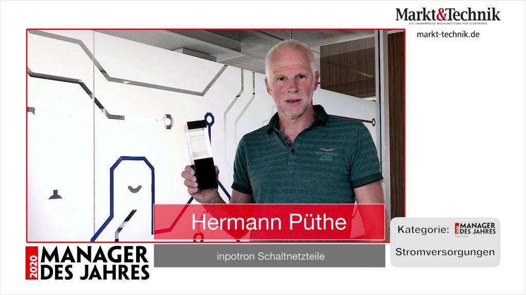 »Manager des Jahres 2020«: Hermann Püthe