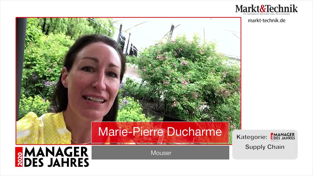 »Manager des Jahres 2020«: Marie-Pierre Ducharme