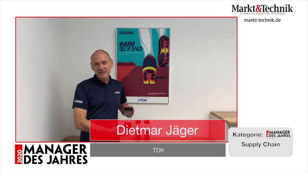 »Manager des Jahres 2020«: Dietmar Jäger