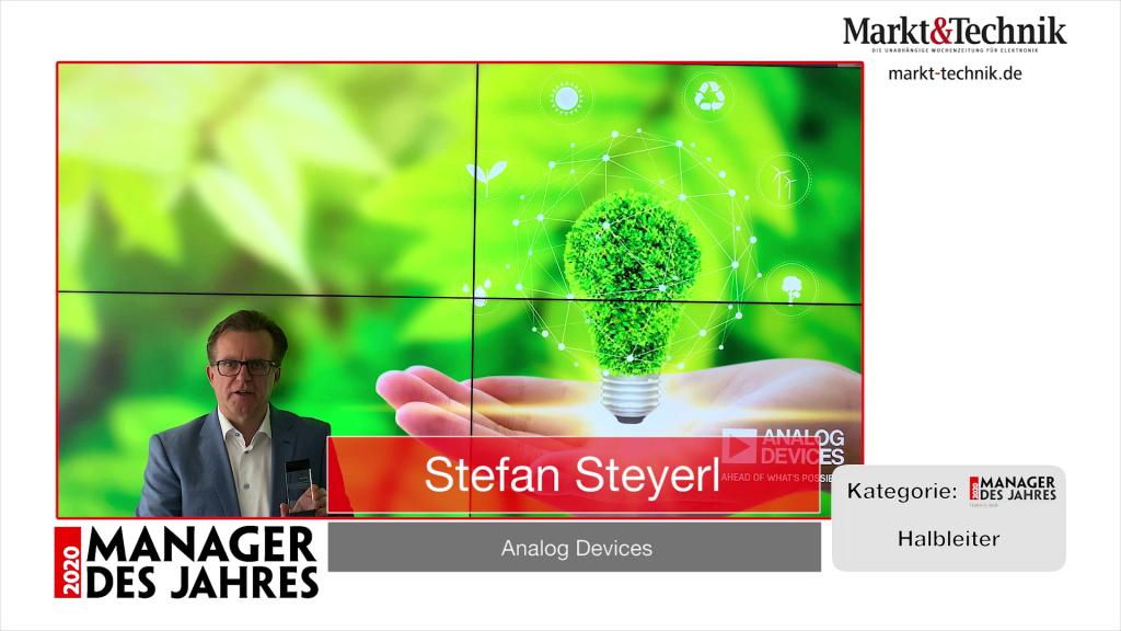 »Manager des Jahres 2020«: Stefan Steyerl