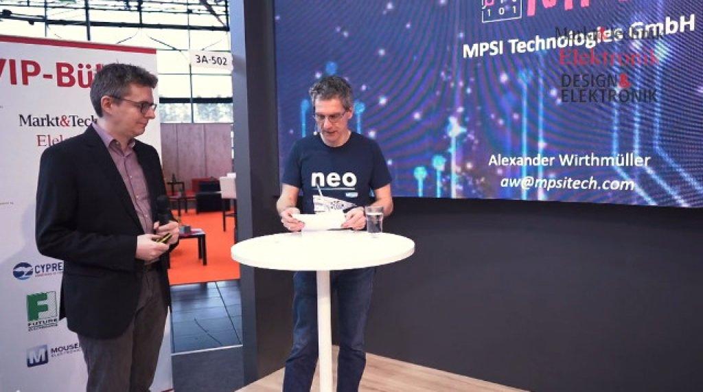 VIP-Bühne: Startups stellen sich vor: MPSI Technologies