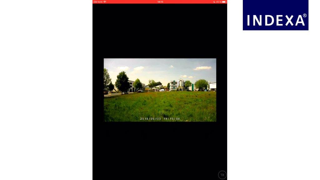 INDEXA: Funk-Überwachungskameraset DW700 (iOS)