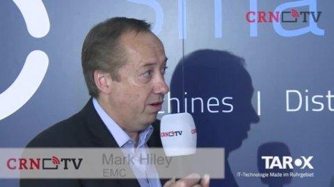 Tarox Inside 2015: Mark Hiley von EMC bei CRN-TV