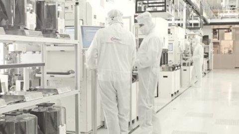 Einblick: Weltweit erste 300mm-Halbleiterfertigung von Infineon