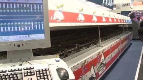 Lötmaschine mit patentiertem Transportsystem