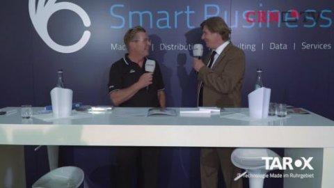Tarox Inside 2015: Uwe Hüfner von Tarox im CRN-TV-Interview
