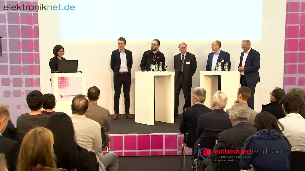 """Podiumsdiskussion """"Embedded Vision & Machine Learning"""""""