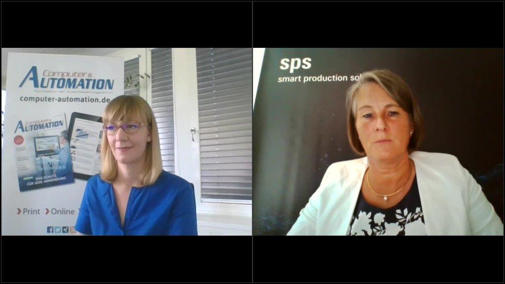 Live-Gespräch zur SPS 2020 mit Sylke Schultz-Metzner