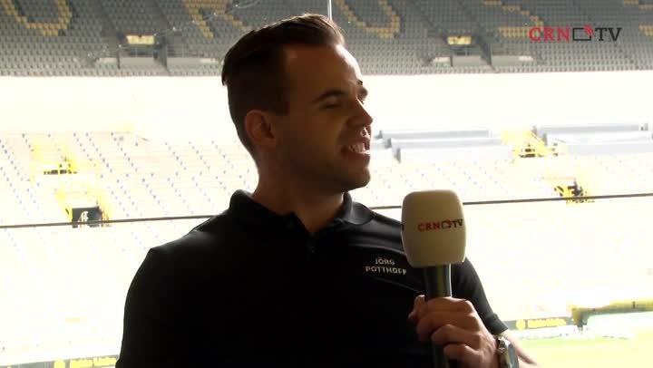 Tarox-Manager Jörg Potthoff im CRN-TV-Interview