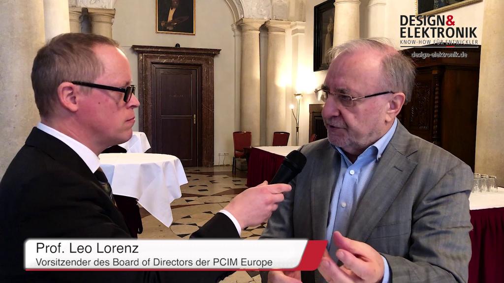 Prof. Leo Lorenz zur PCIM Europe 2019 (Teil 2)
