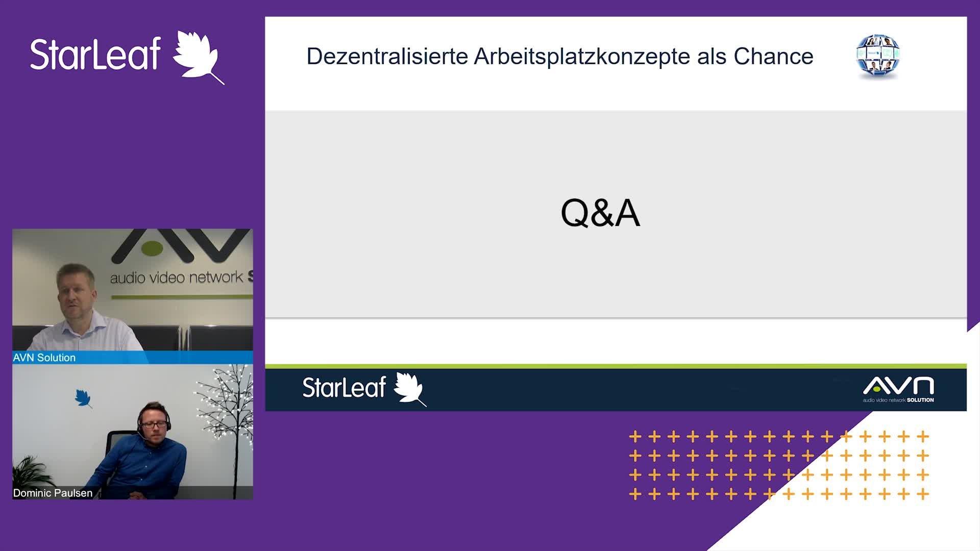 Starleaf Webinar 05.05.2020 mit funkschau
