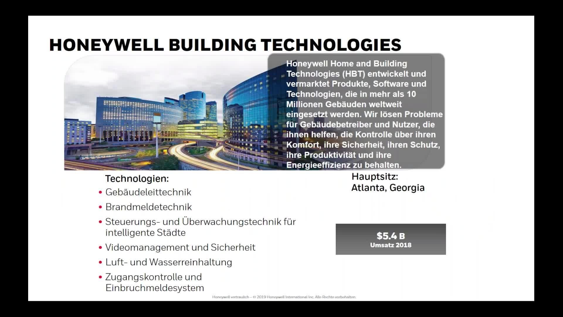 Webinar Honeywell 09.07.19
