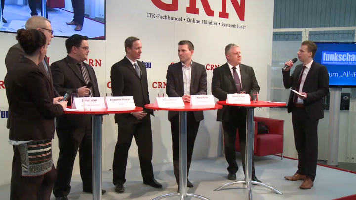 "CeBIT 2016 - Podiumsdiskussion ""All-IP"""