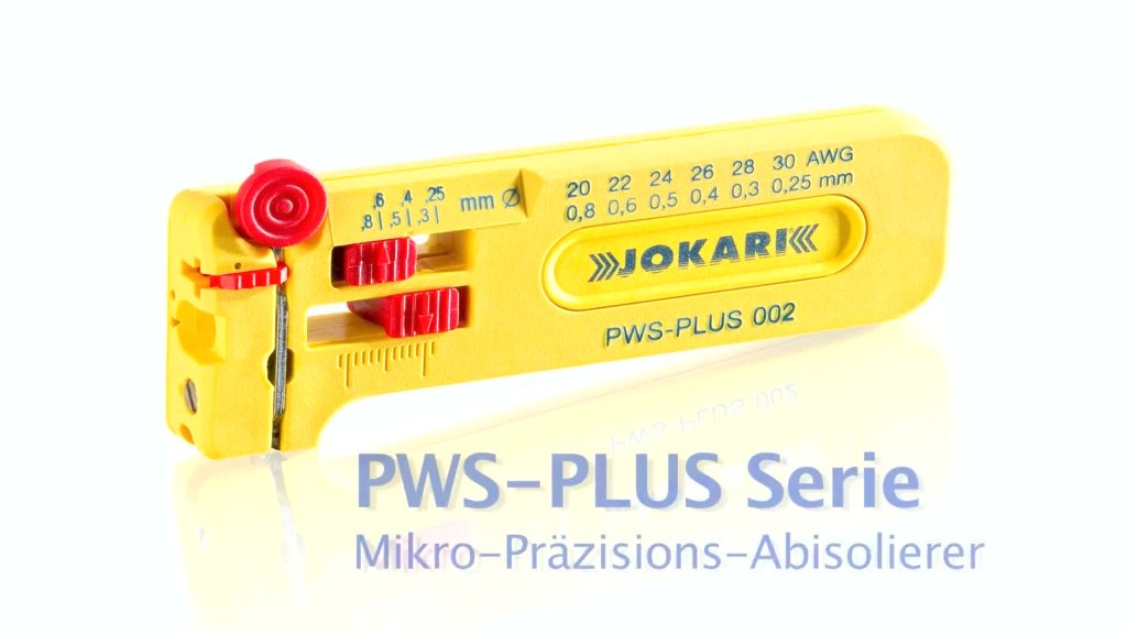 JOKARI: Mikro-Präzisions-Abisolierer PWS-PLUS
