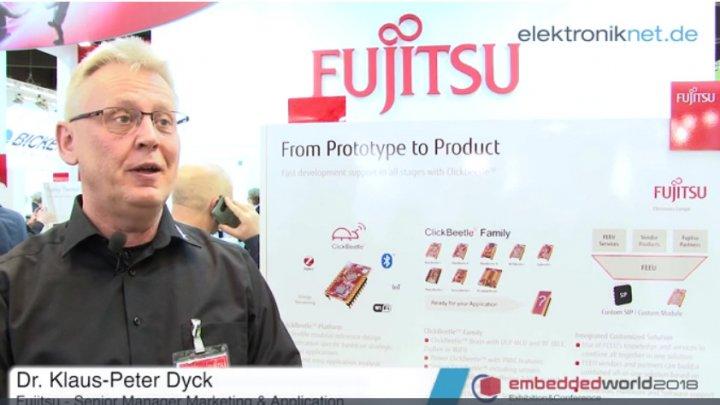 Fujitsu Electronic: Referenzboard ClickBeetle