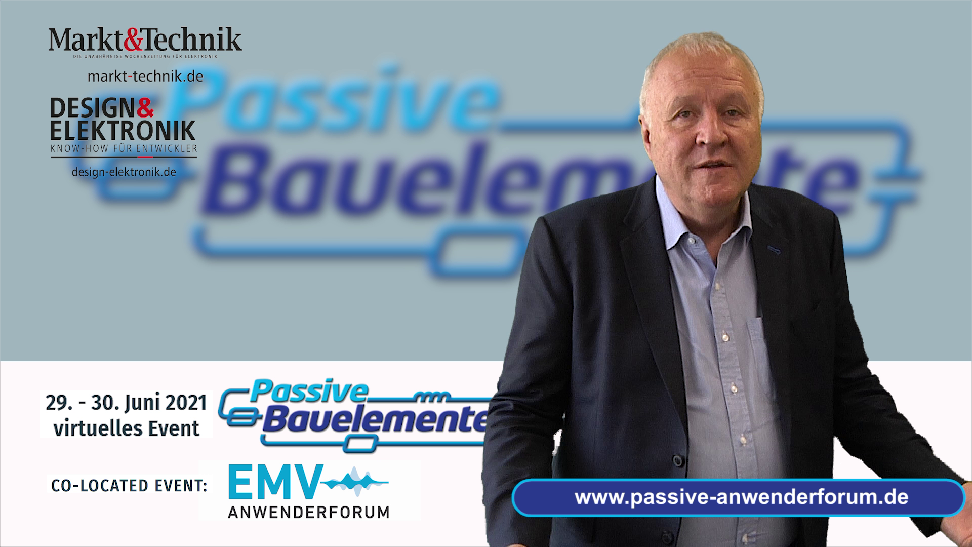 Anwenderforum »Passive für Profis«: Keynotes beleuchten Beschaffungssituation