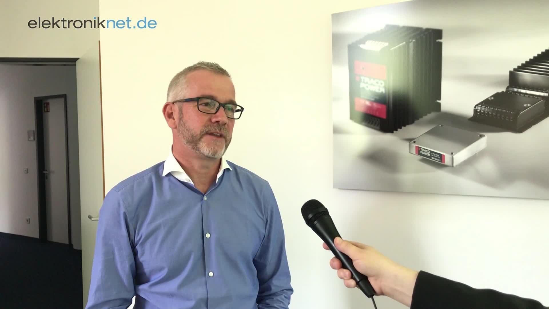Stefan Schaffhauser, CEO der Traco Power