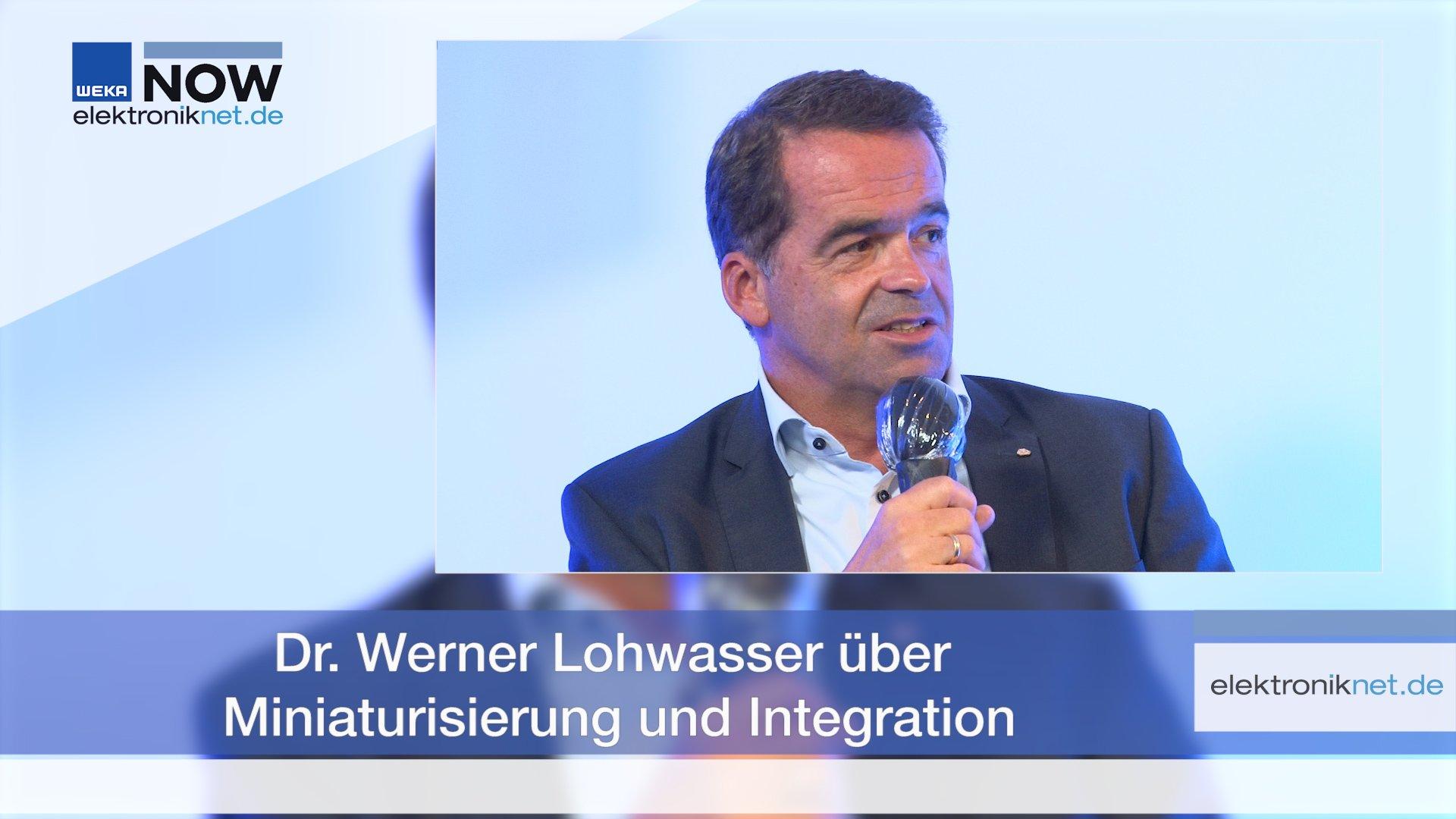 Dr. Werner Lohwasser über Miniaturisierung und Integration