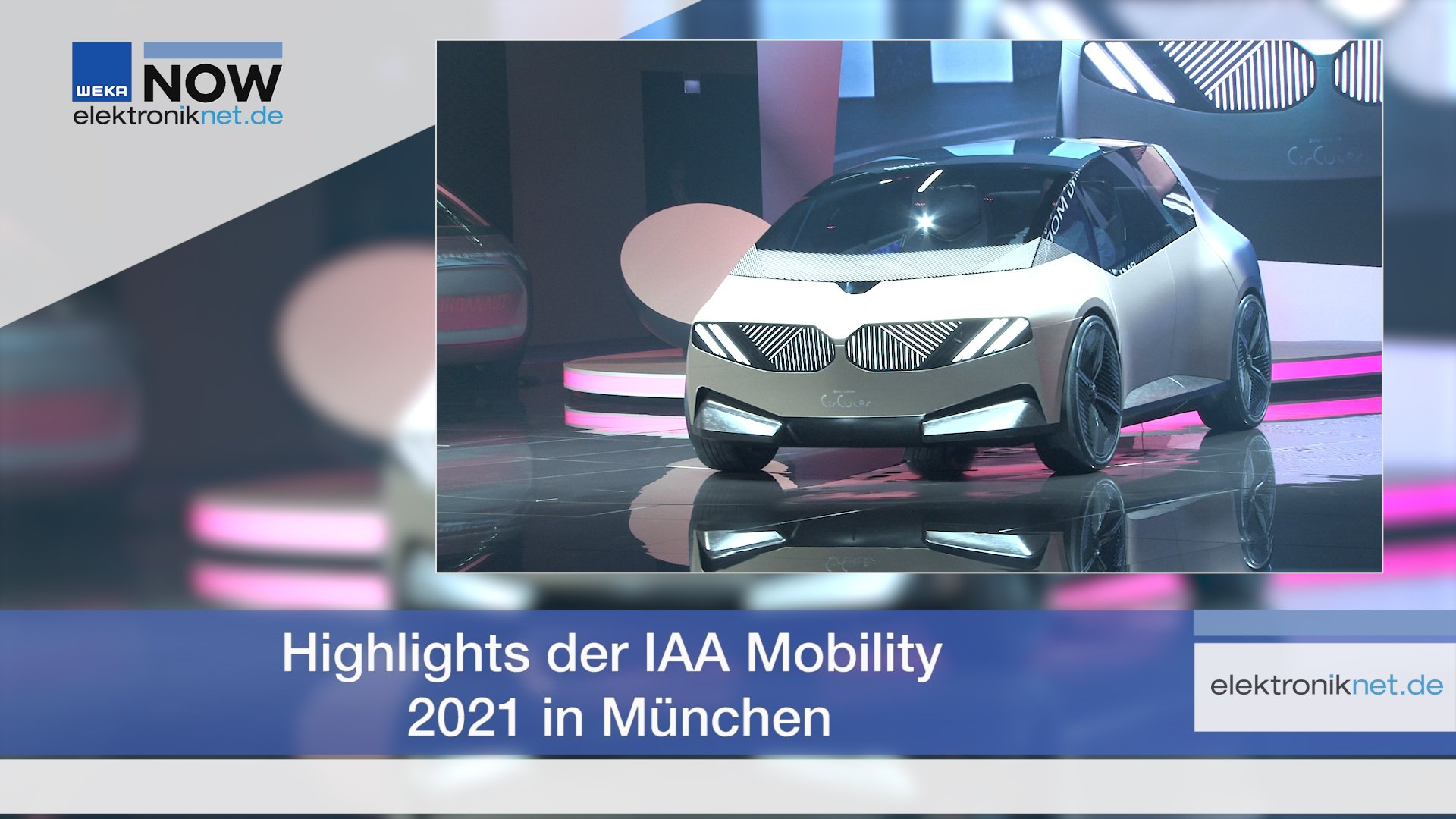 Highlights der IAA Mobility 2021 in München