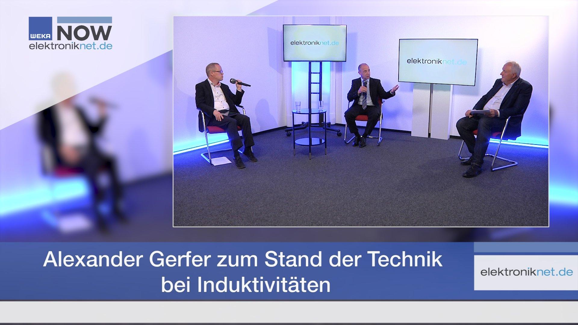 Alexander Gerfer zum Stand der Technik bei Induktivitäten