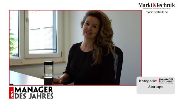 Markt&Technik »Manager des Jahres 2021« in der Kategorie Startups: Katharina Kreitz, Gründerin und Geschäftsführerin von Vectoflow. #mdj2021