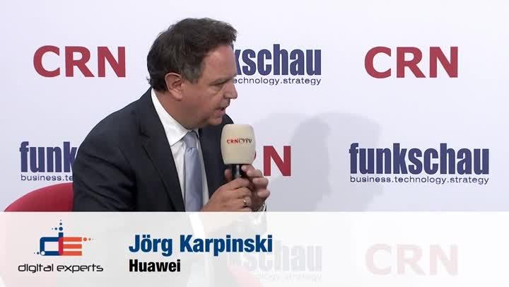 CEBIT 2018: Interview mit Huawei