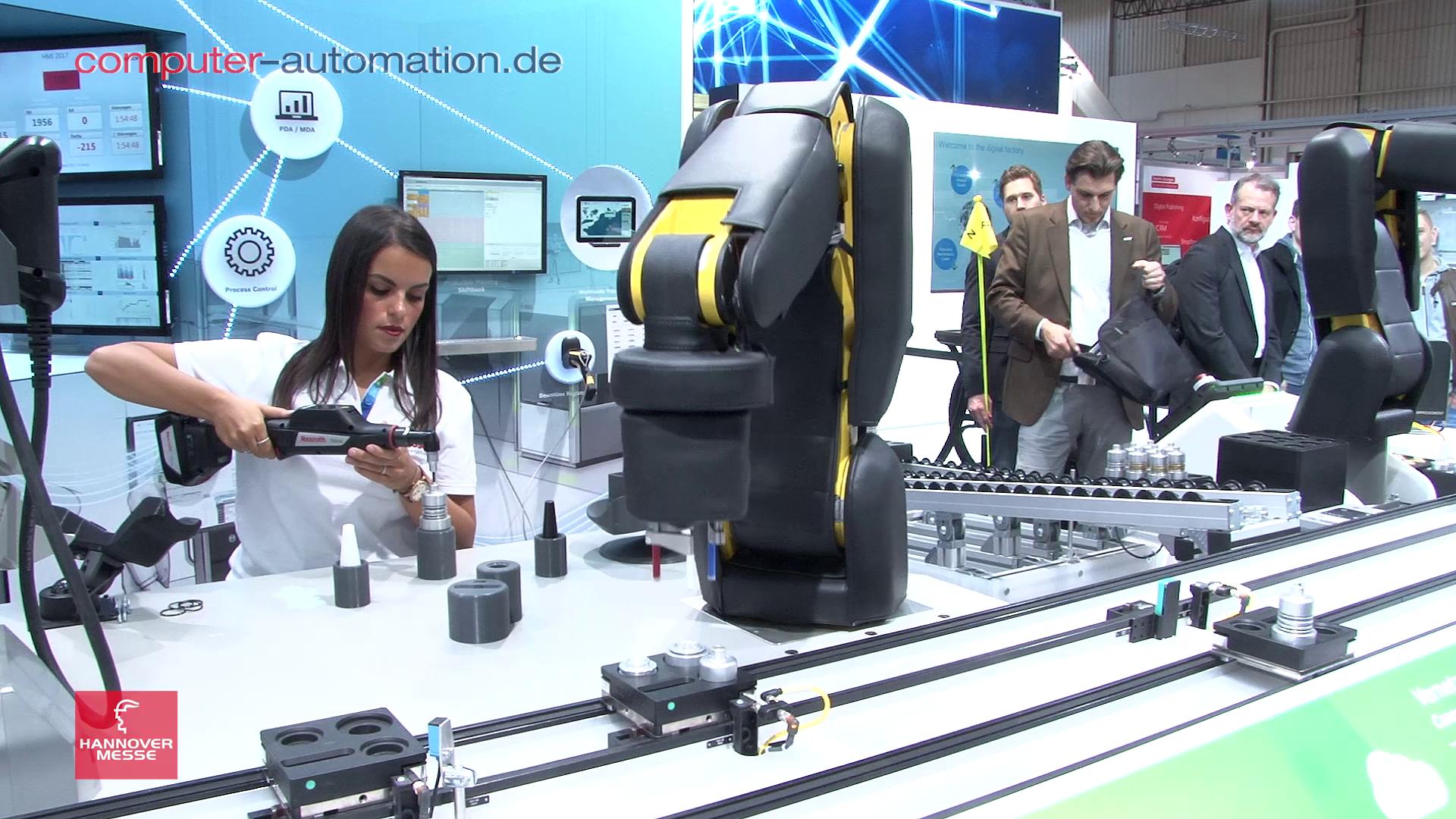 Bosch macht den Roboter zum Kollegen