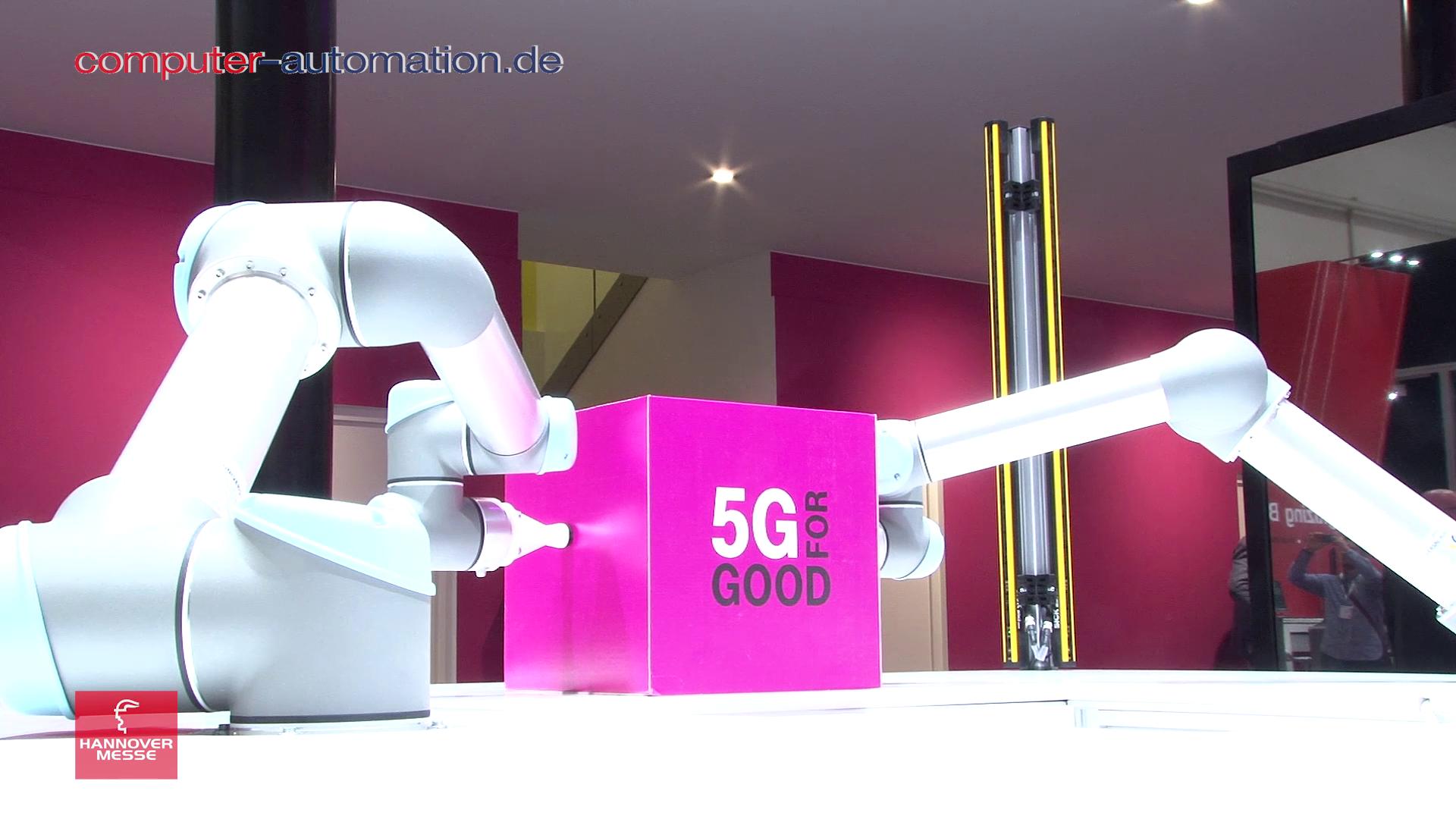 Telekom: 5G - Das Netz für IoT und Industrie 4.0