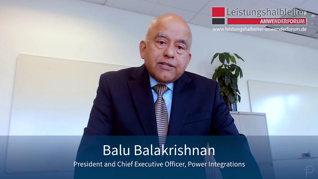 Balu Balakrishnan, Anwenderforum Leistungshalbleiter 2019