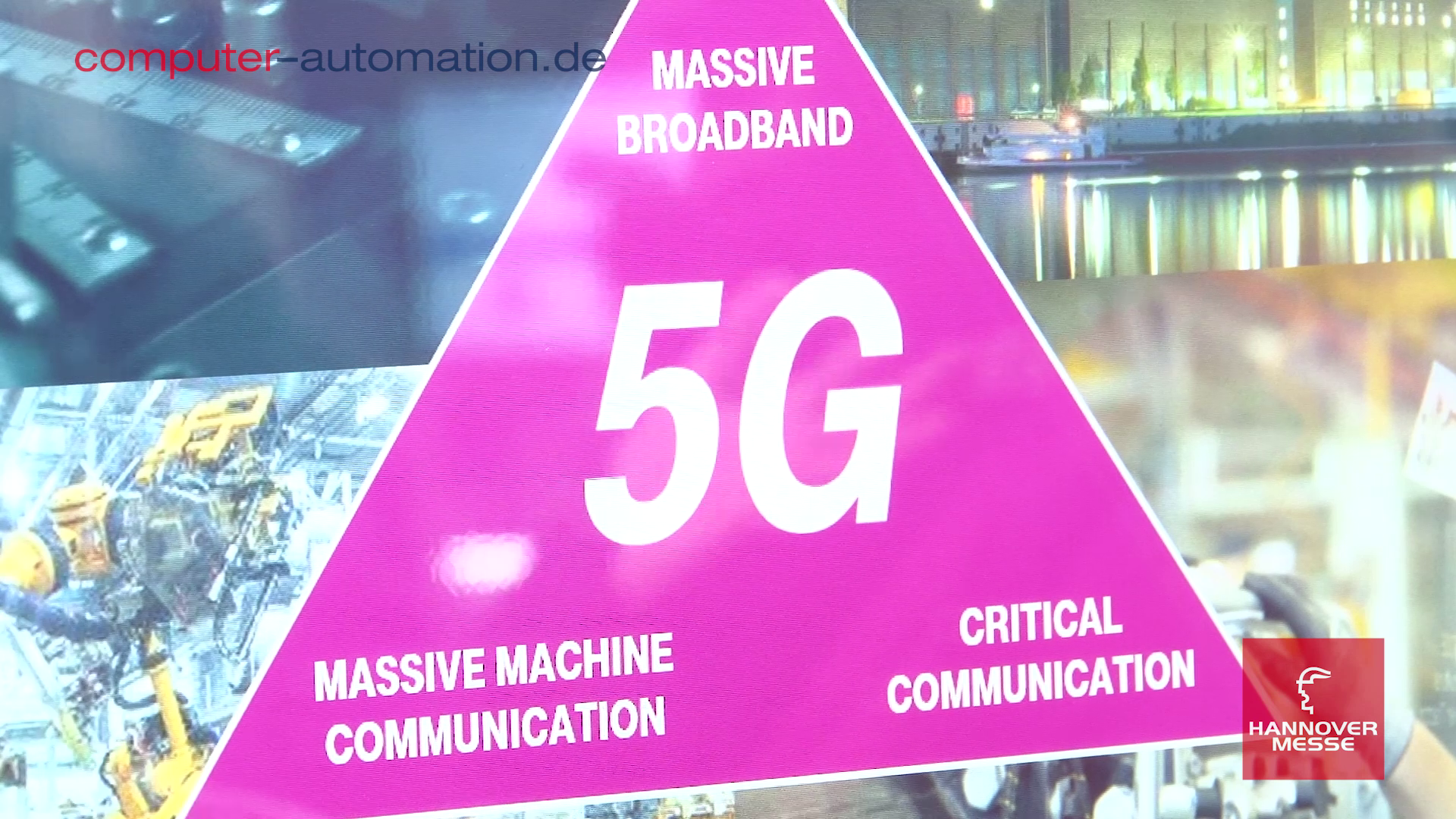 Hannover Messe 2018: 5G in der Industrie