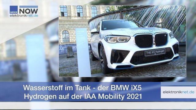 BMW setzt als einziger deutscher Autobauer auf den Wasserstoff-Antrieb für PKW. Wir haben uns den SUV auf Basis des iX 5 angeschaut und mit Dr. Jürgen Guldner, dem Leiter des BMW-Wasserstoff-Programms, eine Testfahrt unternommen.