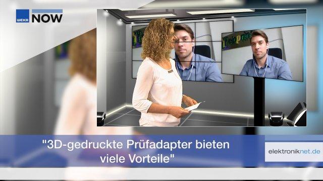 Georg Pröpper, Gründer und Geschäftsführer des Start-ups eloprint, über die Vorteile und Besonderheiten des 3D-Druck-Verfahrens im Prüfadapterbau.