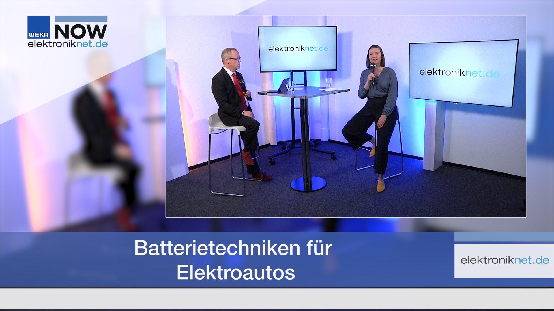 Batterietechniken für Elektroautos