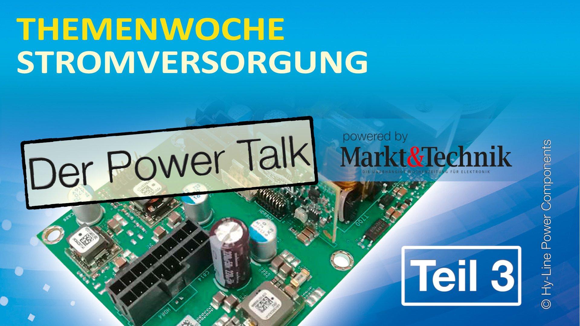 Power-Talk (Teil 3): Was bedeutet das Industrial IoT für die Stromversorgung?