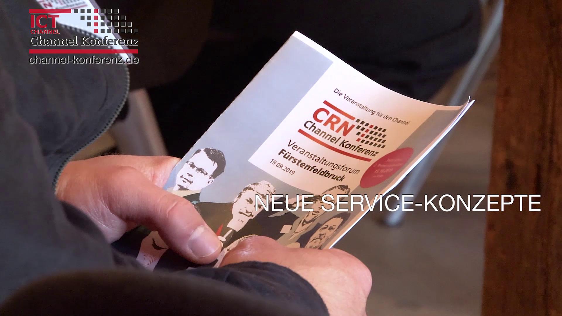 CRN Channel Konferenz 2019 in Fürstenfeldbruck