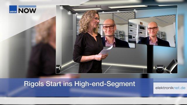 Im Video-Interview erklärt Boris Adlung von Rigol, warum das Unternehmen aktuell gleich zwei Meilensteine erreicht hat.