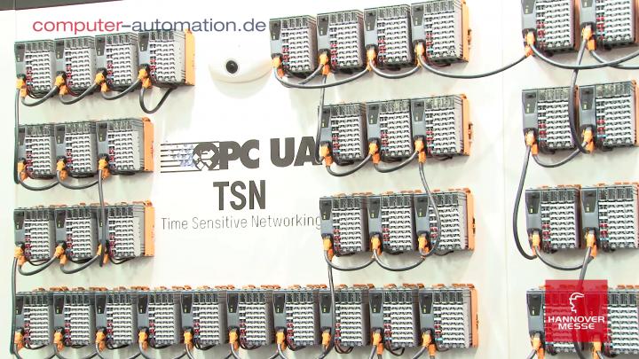 Hannover Messe 2018: TSN plus OPC UA ist gesetzt!