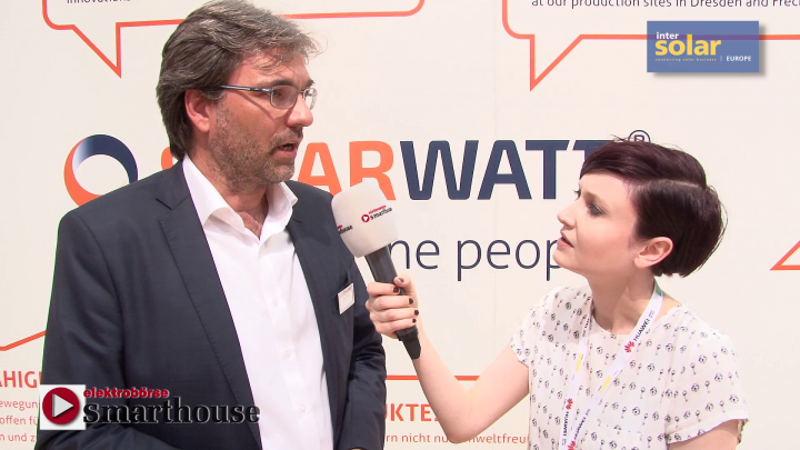Intersolar 2017: Interview mit Solarwatt - Ein Speichersystem für jeden Anwendungsfall