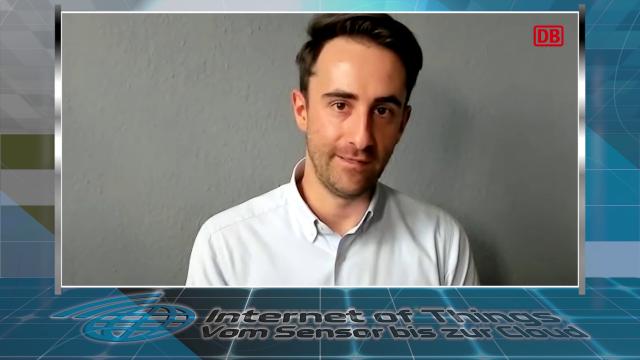 Alexander Richter, Platform Owner Internet of Things (IoT) bei DB Systel hält am 21.10.2021 zusammen mit René Schneider die Abschluss-Keynote der IoT-Konferenz: »IoT-Plattform der Deutschen Bahn: Einblicke und Erfahrungen«