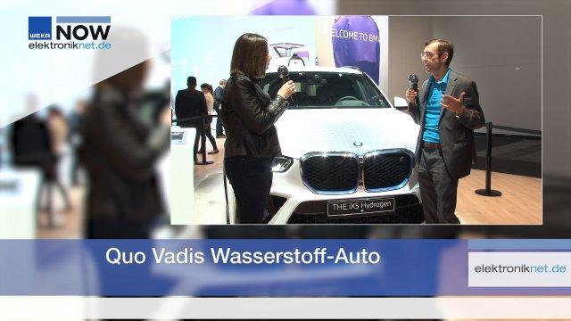 Der BMW  iX 5 Hydrogen war das gallische Dorf der IAA Mobility 2021. Alternative Antriebe mit Wasserstoff gelten für Nutzfahrzeuge als gesetzt, im Auto dagegen als tot. Dr. Jürgen Guldner, der Leiter des Wasserstoff-Programms von BMW, spricht mit uns über die Zukunftsaussichten der Antriebstechnologie.