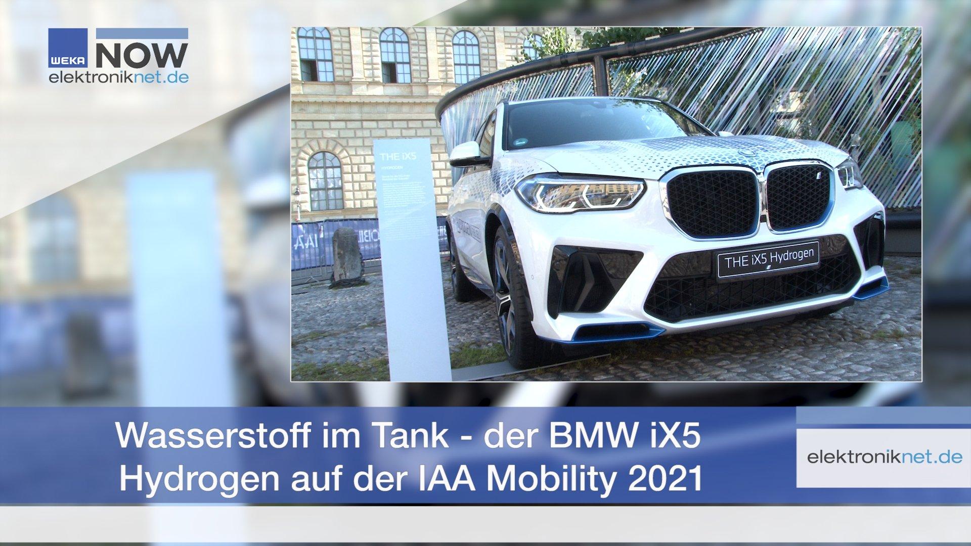 Wasserstoff im Tank - Der BMW iX5 Hydrogen auf der IAA Mobility 2021