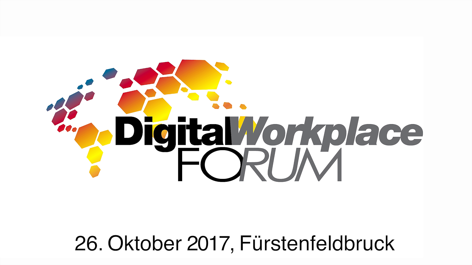 Ausblick: Digital Workplace Forum 2017