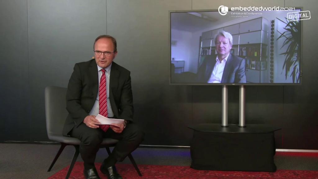 embedded world 2021: Prof. Dr. Peter Liggesmeyer, Fraunhofer IESE