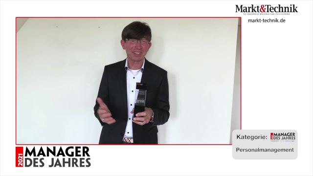 Markt&Technik »Manager des Jahres 2021« in der Kategorie Personalmanagement: Prof. Dr. Gunther Olesch, Geschäftsführer, CHRO und – bis 4/21 – Chief Representative von Phoenix Contact. #mdj2021